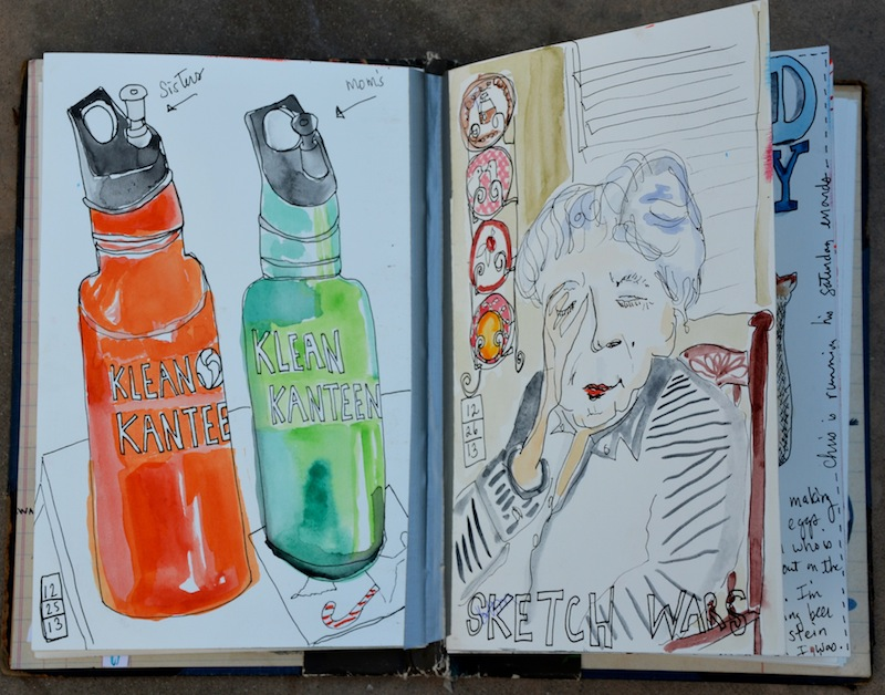 sketchbook stories