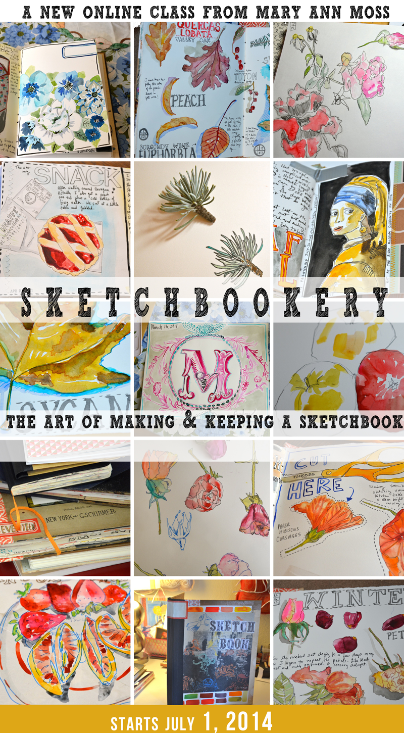 the art of making & keeping a sketchbook