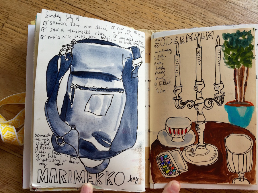 MaryAnnMoss sweden sketchbook32