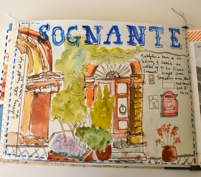 umbria sketchbook
